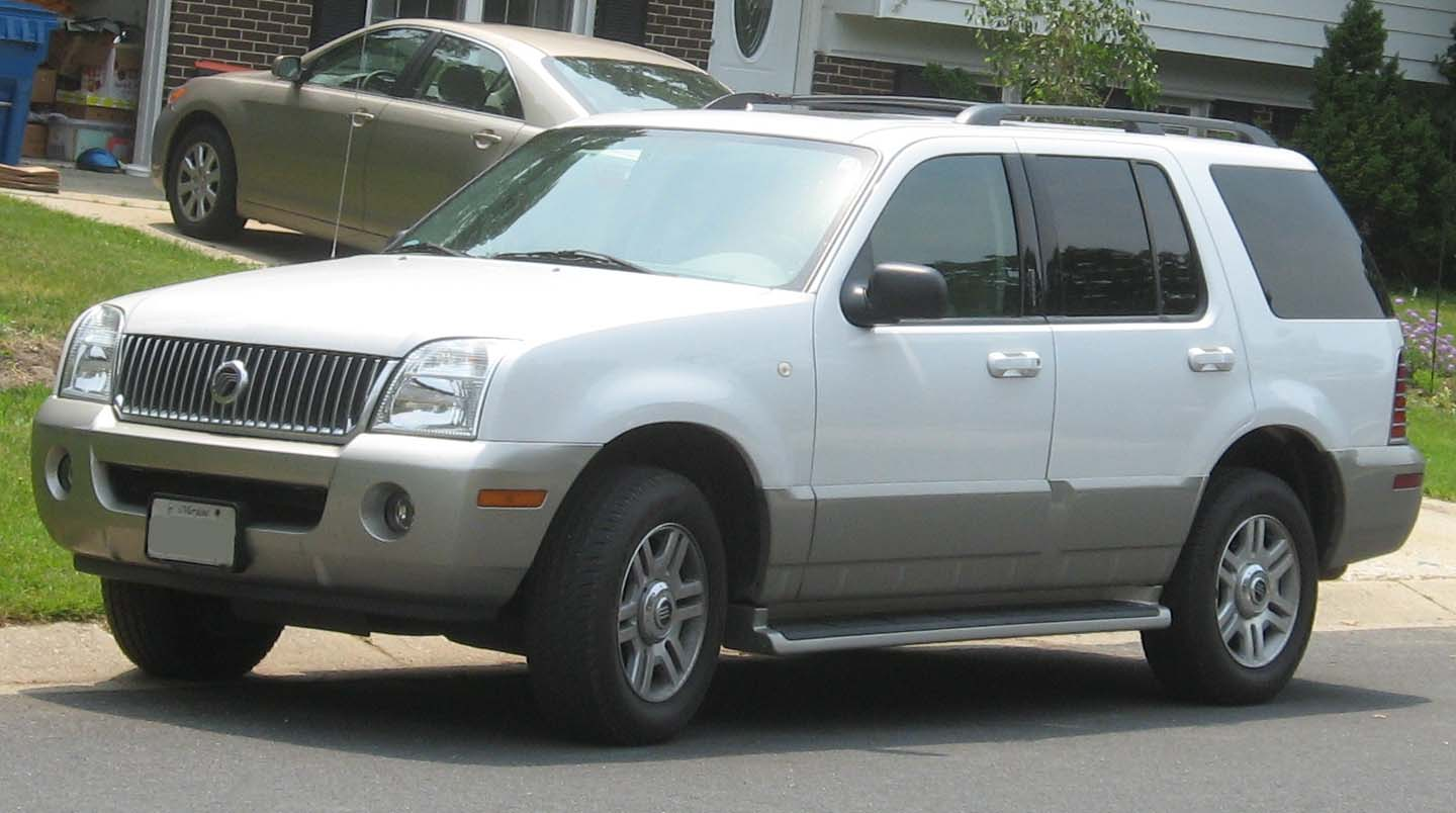 Mercury Mountaineer Luxury #13