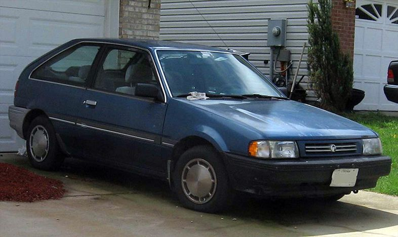 1989 Mercury Tracer Information And Photos Momentcar