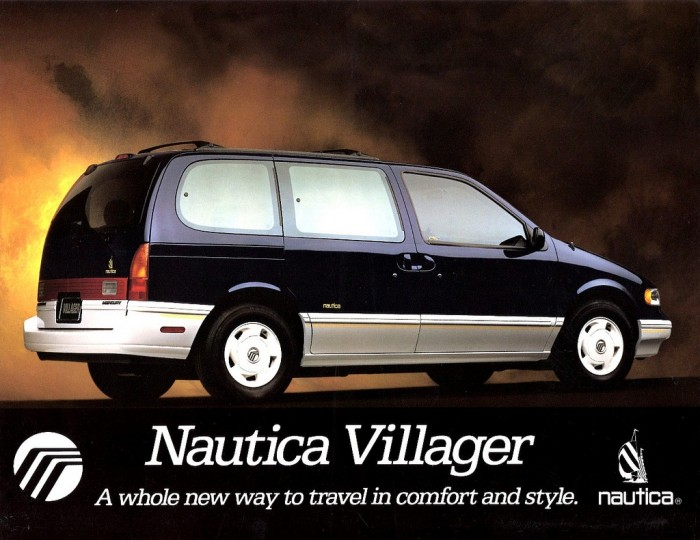Mercury Villager Nautica #12