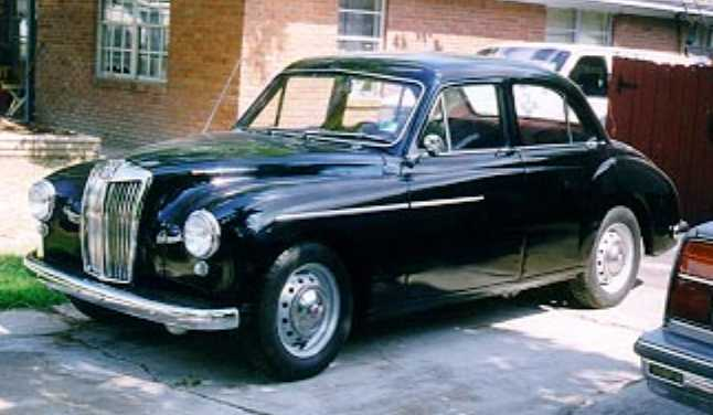 1958 Mg Magnette Information And Photos Momentcar