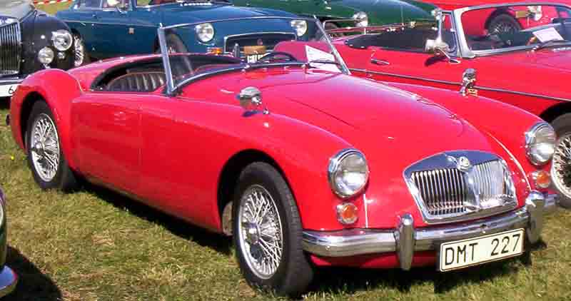 1961 MG MGA 1600 (484598) : Registry : The MG Experience