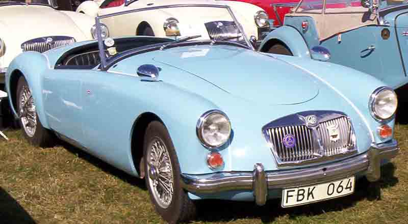 1961 MG Magnette - Information and photos - MOMENTcar