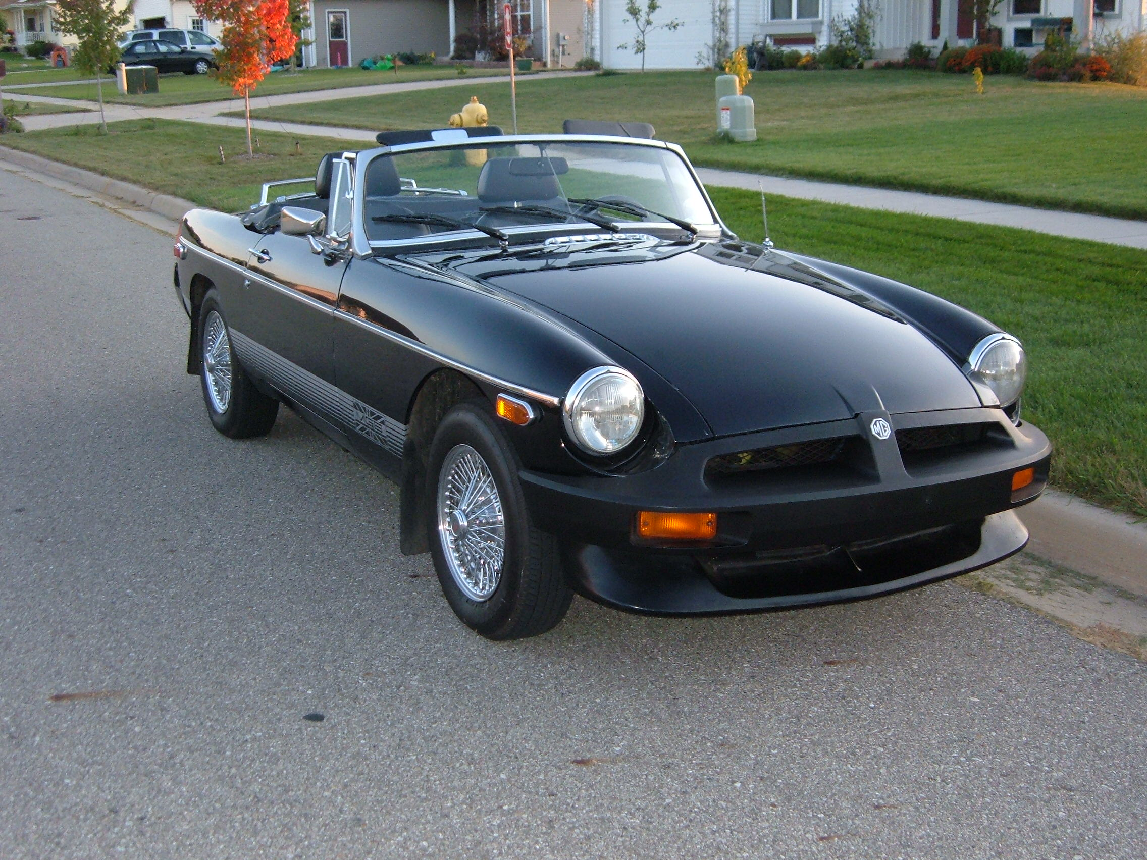 1980 Mg Mgb Information And Photos Momentcar