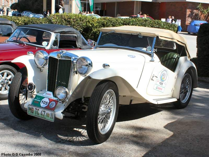 MG TC Roadster 1947 #2