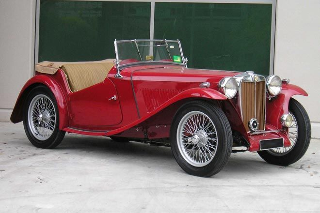 MG TC Roadster 1947 #5
