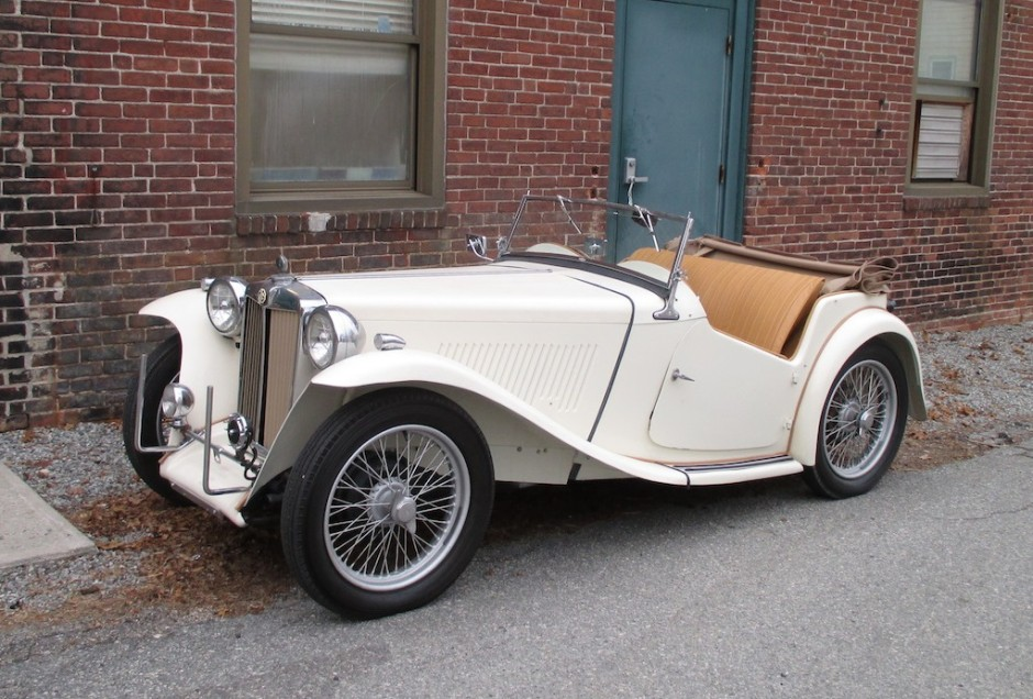 MG TC Roadster 1948 #8