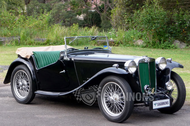 MG TC Roadster #7