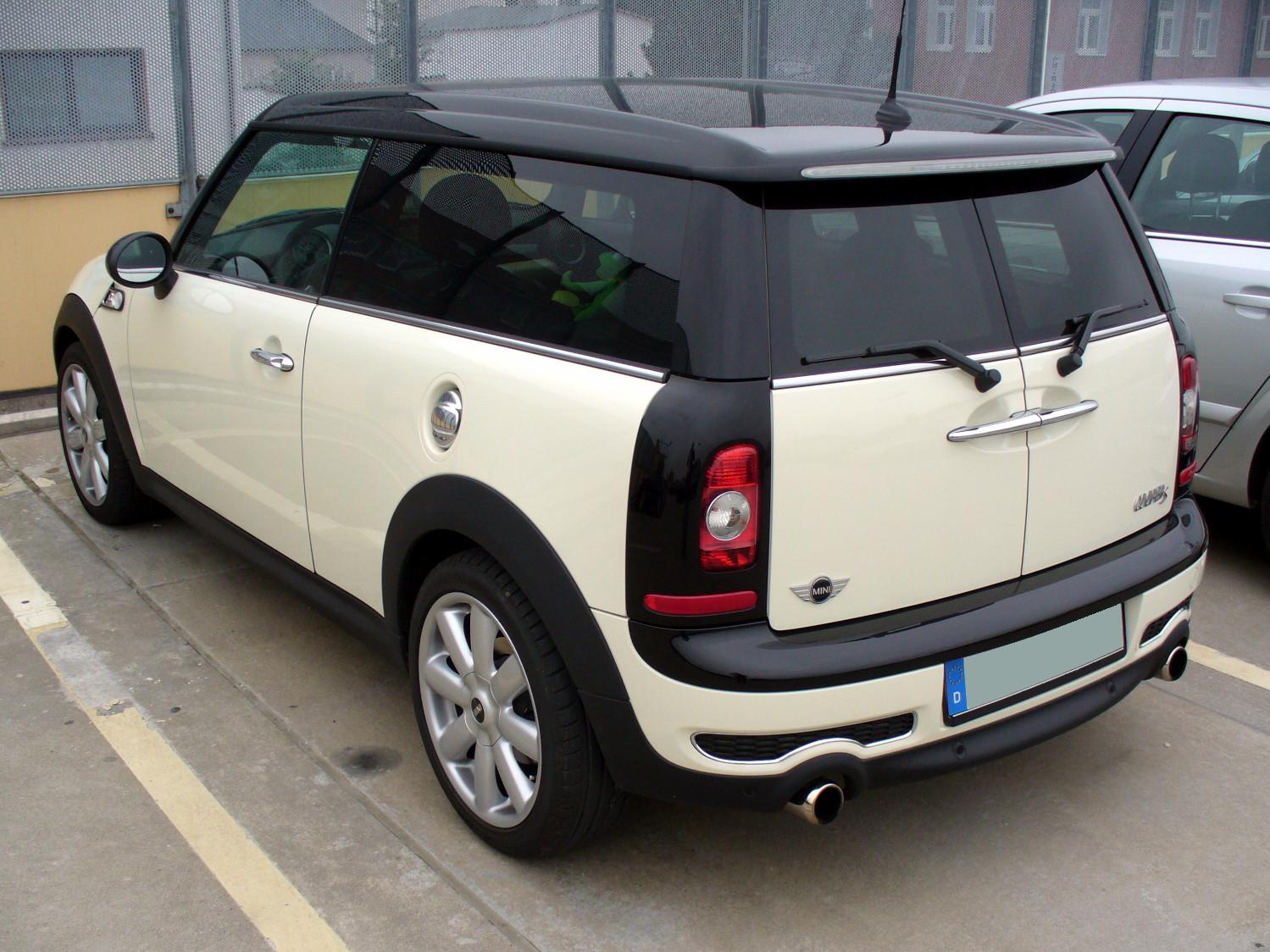 2008 Mini Cooper Clubman Information And Photos Momentcar