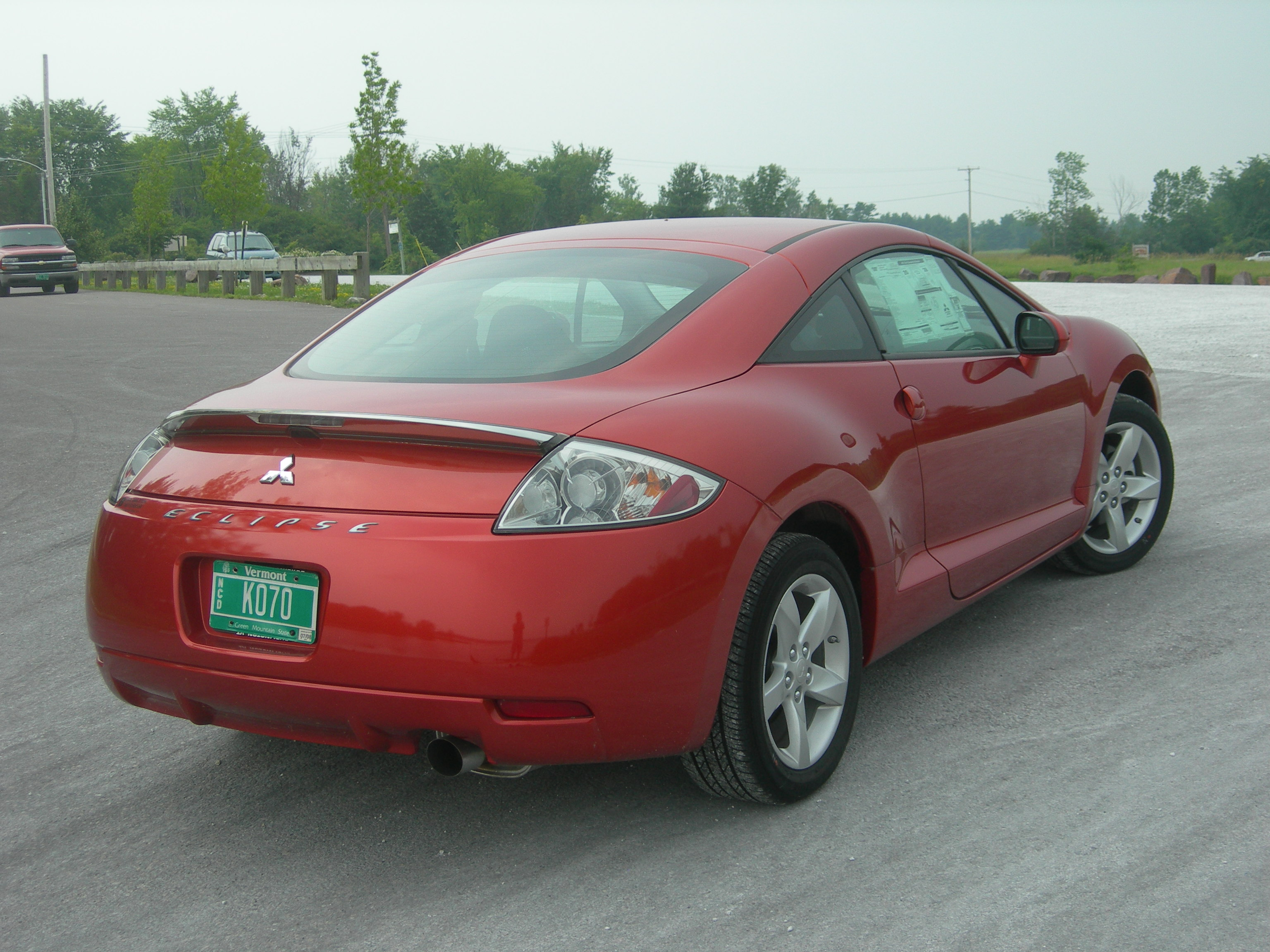 2008 Mitsubishi Eclipse - Information and photos - MOMENTcar