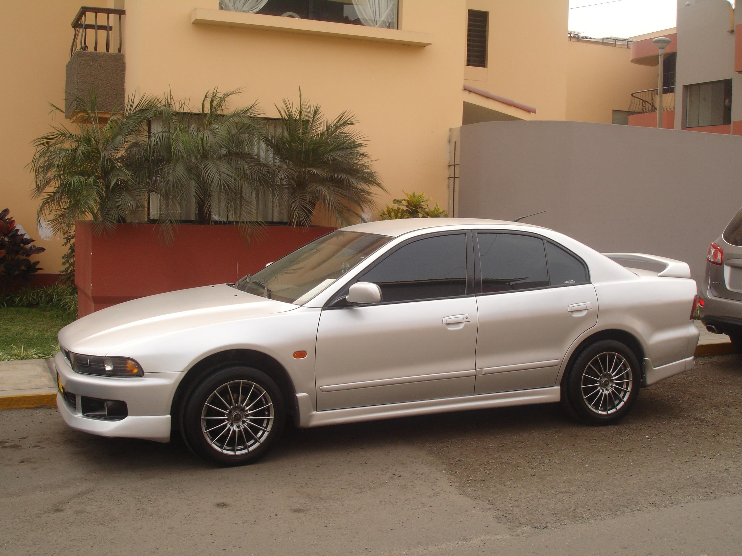 2001 Mitsubishi Galant - Information and photos - MOTcar