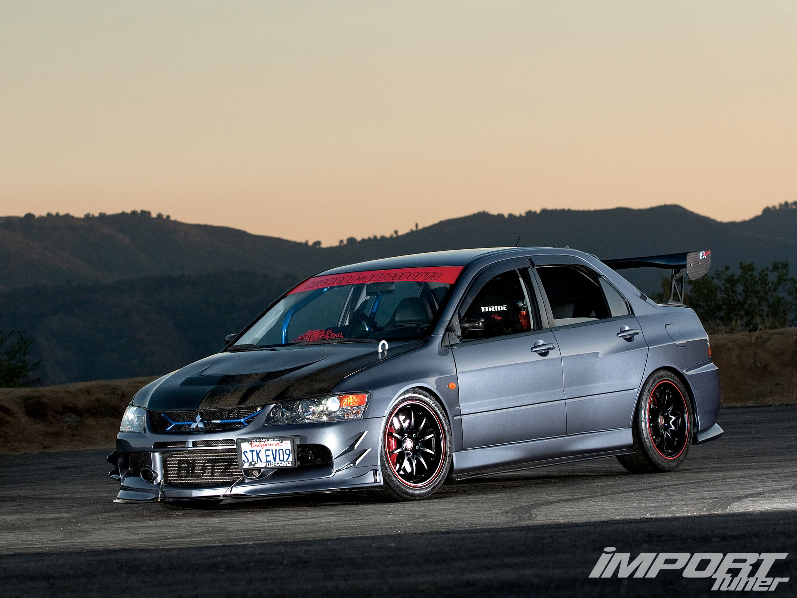 Download Mitsubishi Lancer Evolution 2006 6