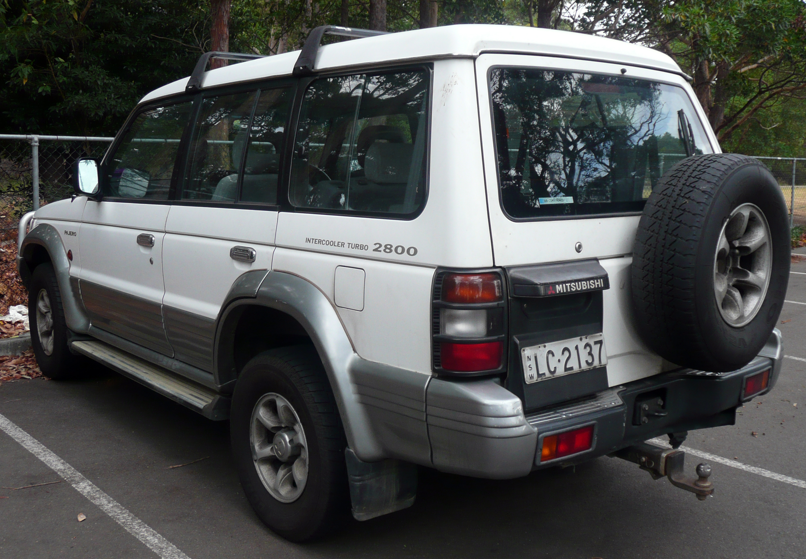 1996 Mitsubishi Montero Information And Photos Momentcar