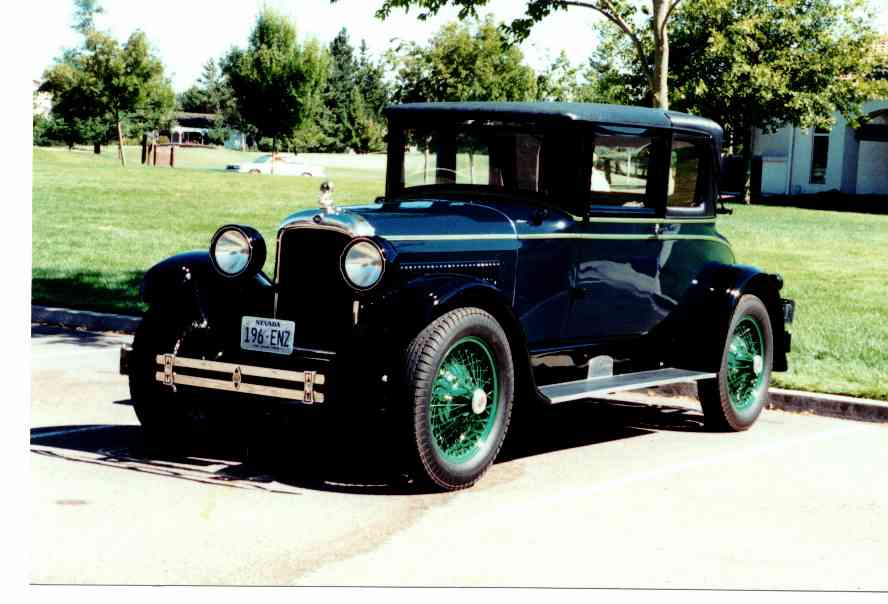 1927 nash advanced information and photos momentcar for 1927 nash 4 door sedan