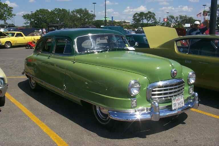 1950 Nash Ambassador Information And Photos Momentcar