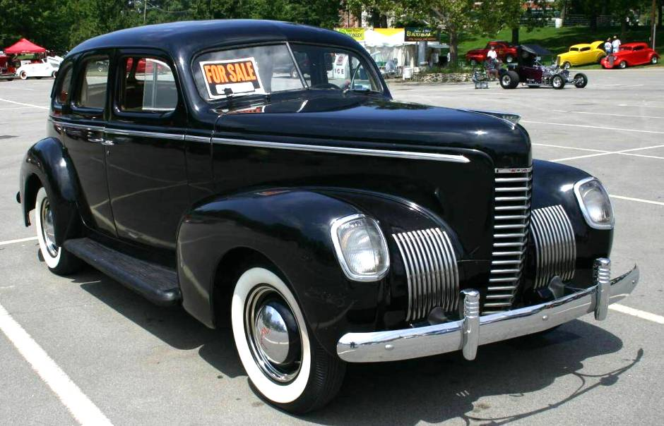 1940 nash lafayette information and photos momentcar for Mercedes benz of lafayette