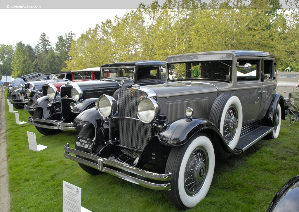 1931 Nash Twin Ignition - Information and photos - MOMENTcar
