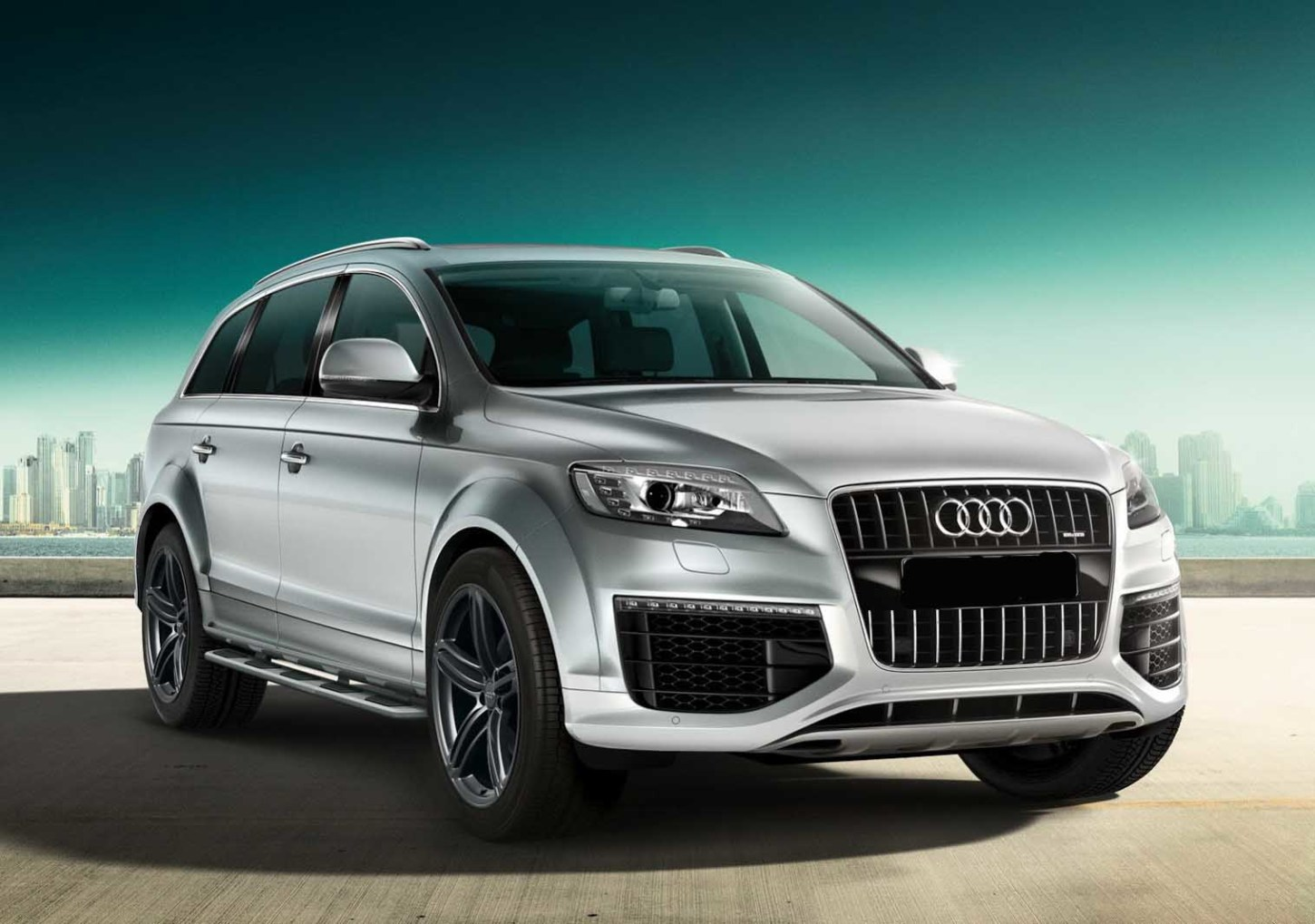 new audi 2016 q7 the second generation of the luxury crossover. Black Bedroom Furniture Sets. Home Design Ideas