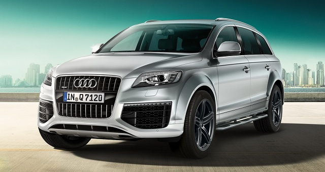 New Audi 2016 Q7: the second generation of the luxury crossover #9