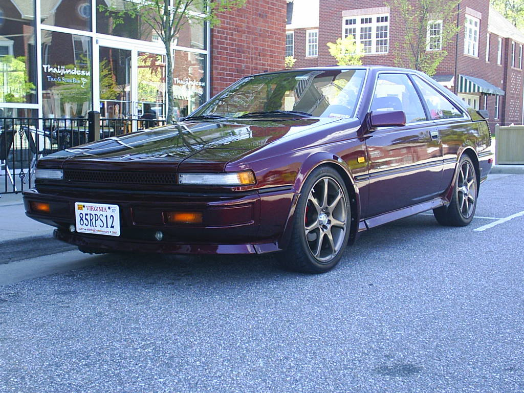 1986 nissan 200sx information and photos momentcar. Black Bedroom Furniture Sets. Home Design Ideas