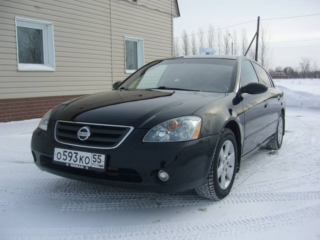 2003 nissan altima - information and photos - momentcar