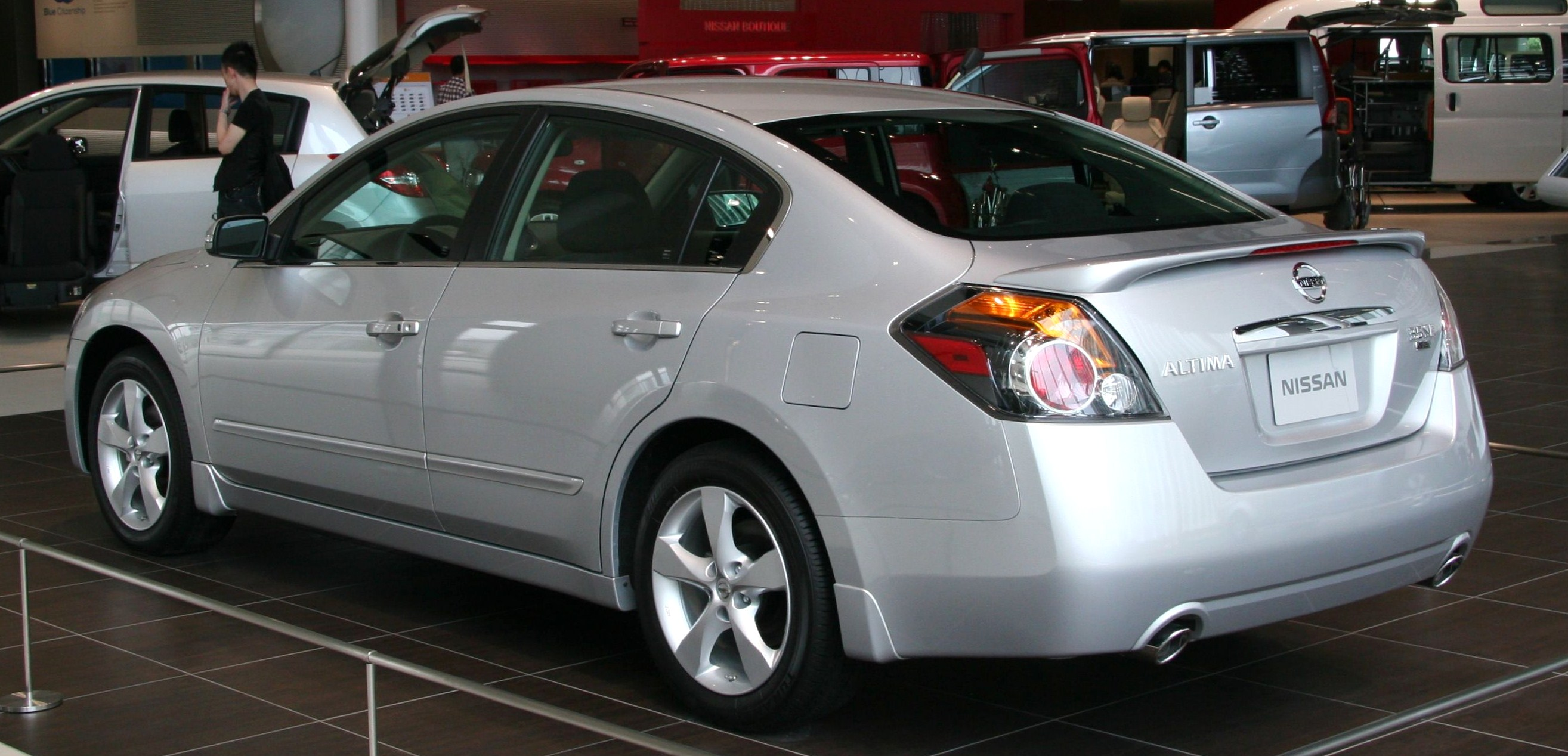 2009 nissan altima information and photos momentcar. Black Bedroom Furniture Sets. Home Design Ideas