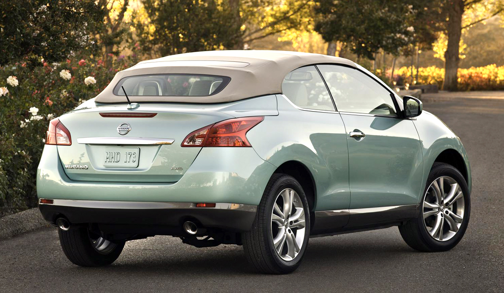 2014 Nissan Murano CrossCabriolet - Information and photos ...