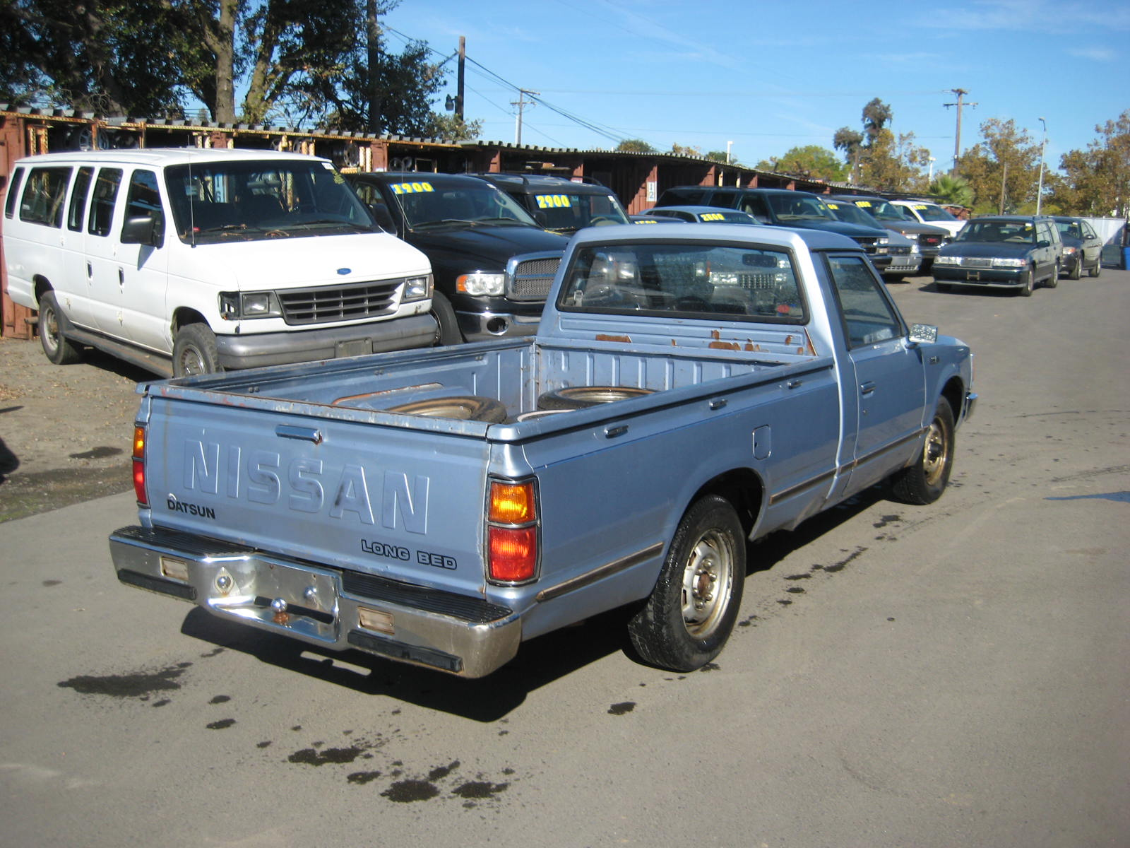 1984 Nissan Pickup Information And Photos Momentcar