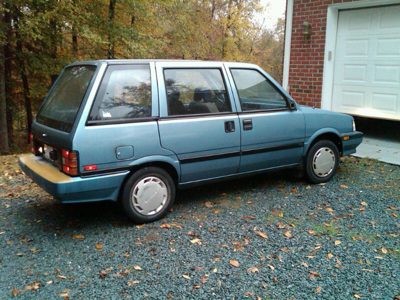 1988 Nissan Stanza Information And Photos Momentcar