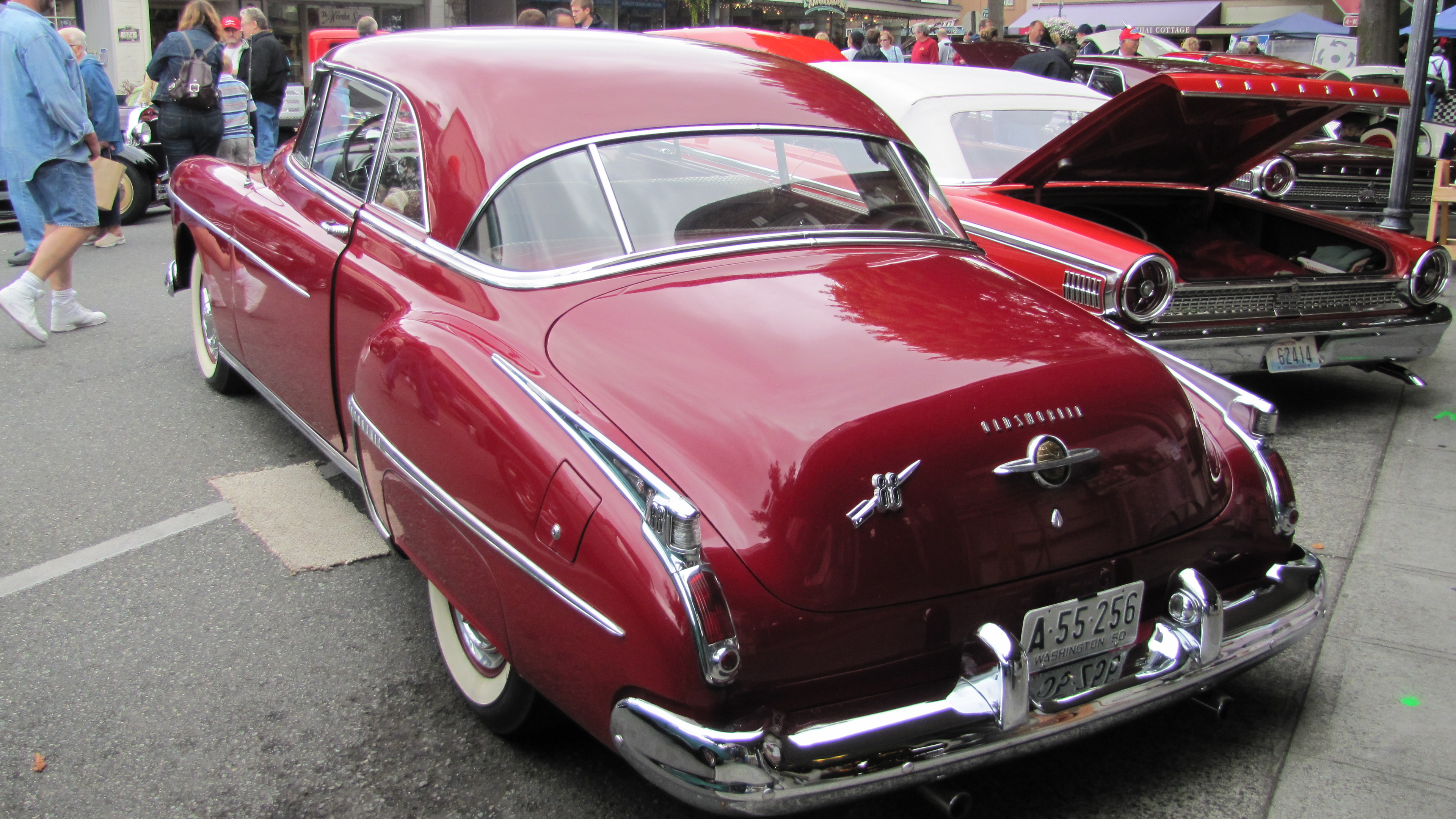 Ford lincoln of franklin 1950 oldsmobile 76 information and photos momentcar