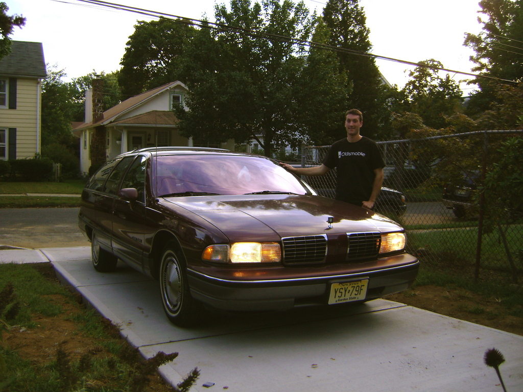 Oldsmobile Custom Cruiser 1992 #7