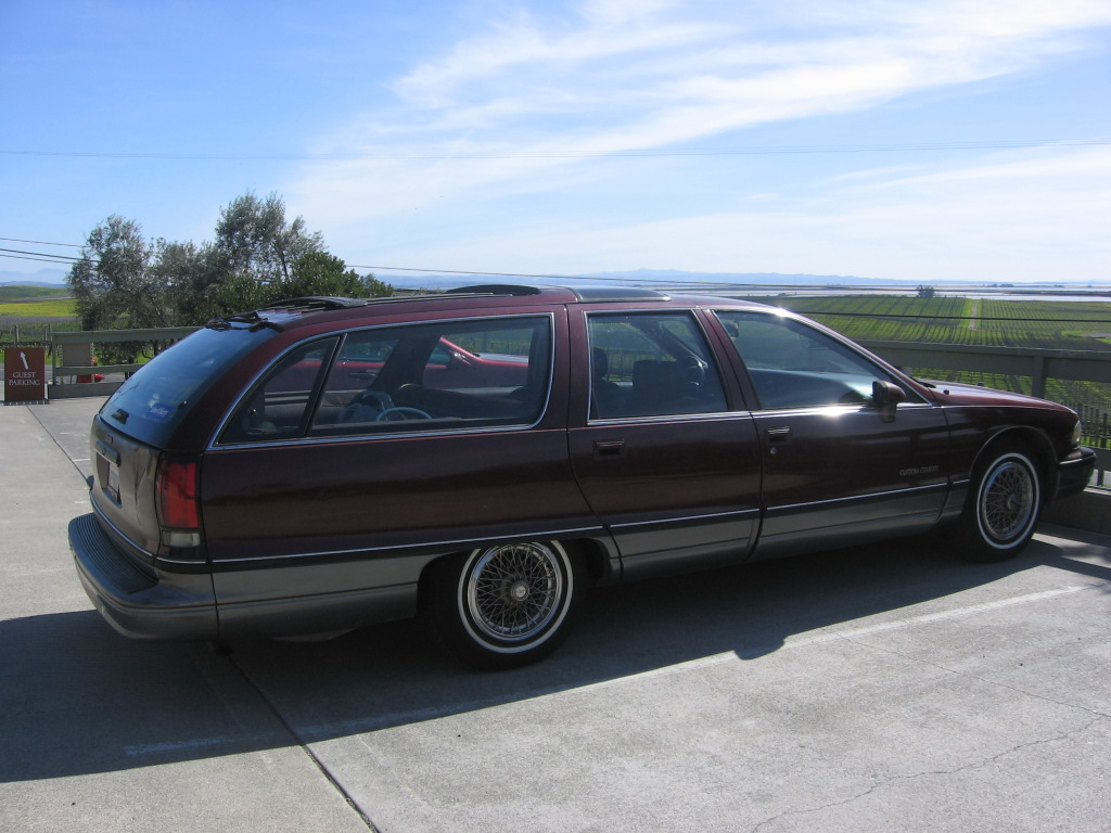Oldsmobile Custom Cruiser #6