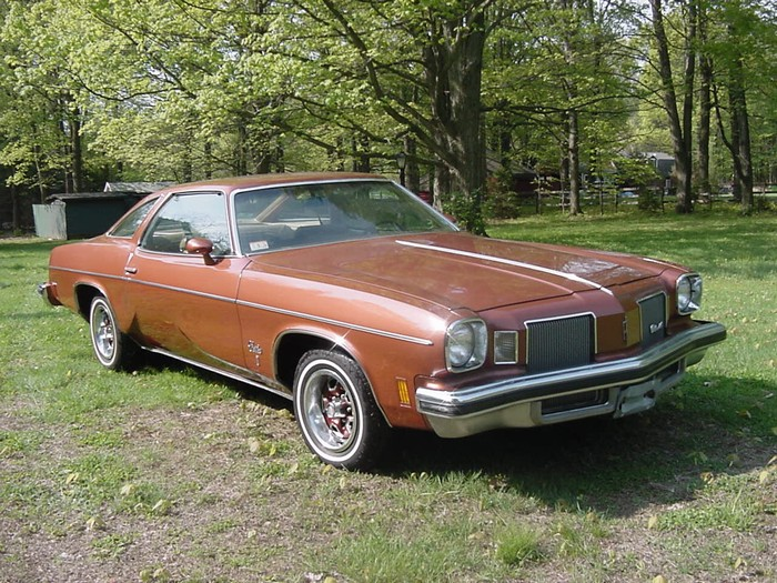1974 oldsmobile cutlass information and photos momentcar for 1974 cutlass salon