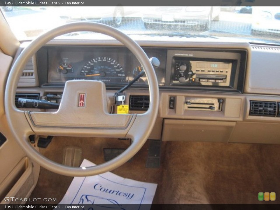 Download Oldsmobile Cutlass Ciera 1992 6
