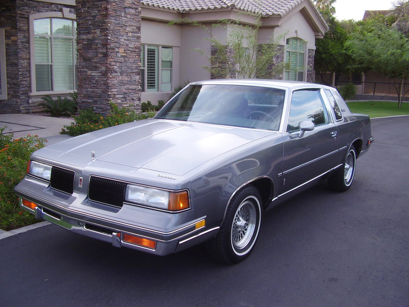 1987 oldsmobile cutlass salon information and photos