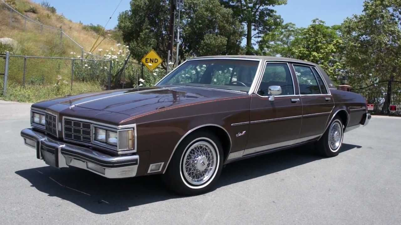 1980 Oldsmobile Delta 88 Information And Photos Momentcar