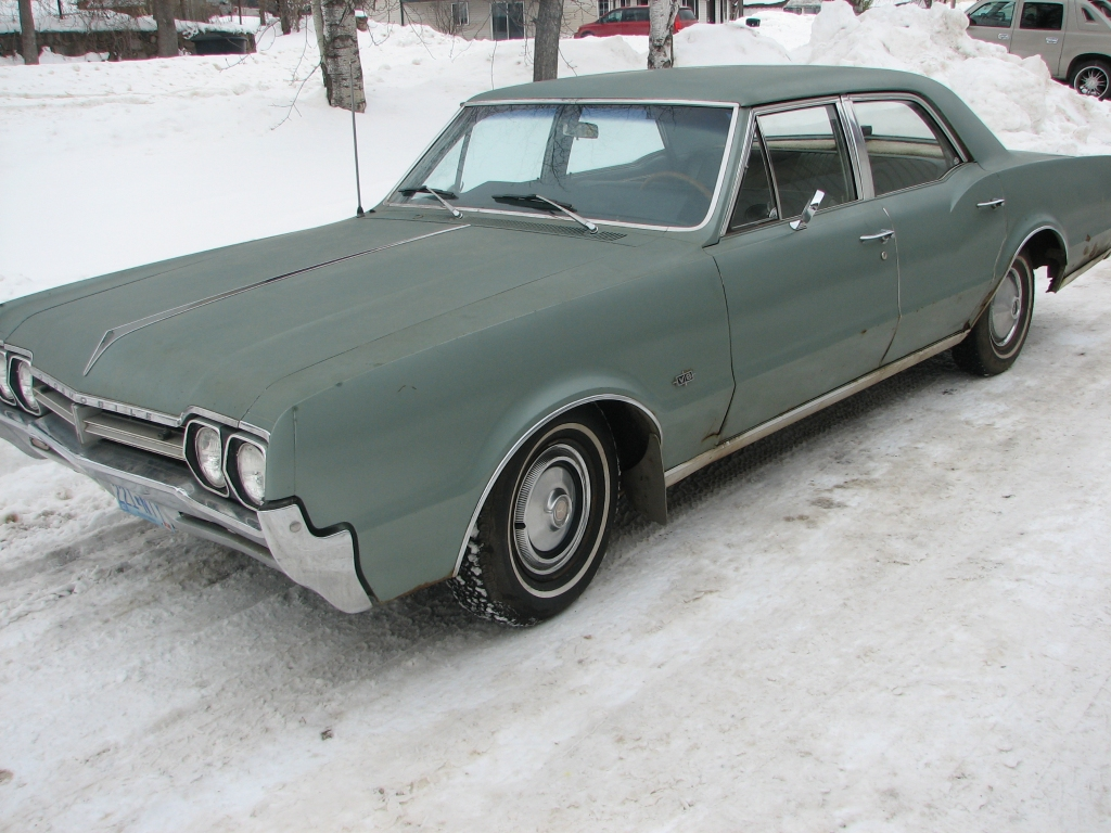 1966 Oldsmobile F-85 - Information and photos - MOMENTcar