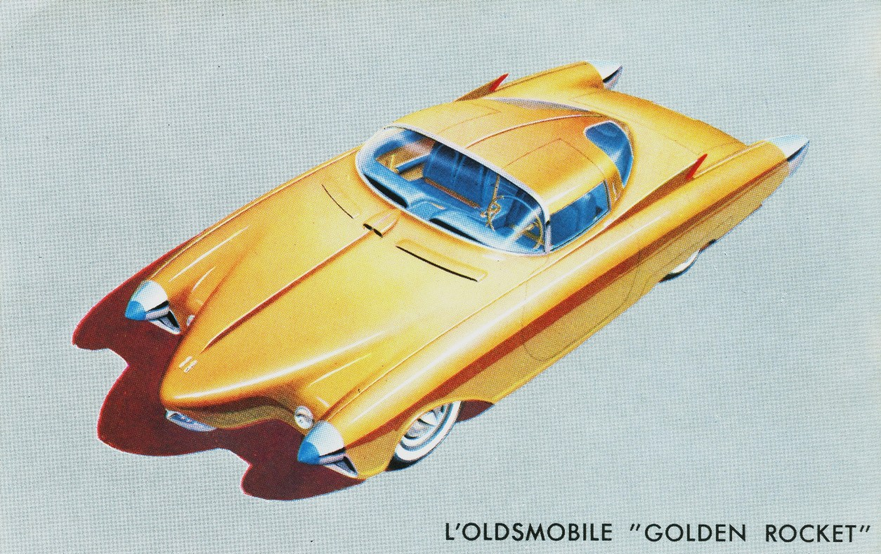 Oldsmobile Golden Rocket #8