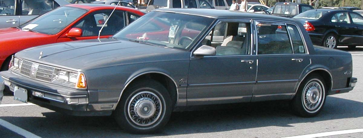 1985 Oldsmobile Ninety Eight Information And Photos