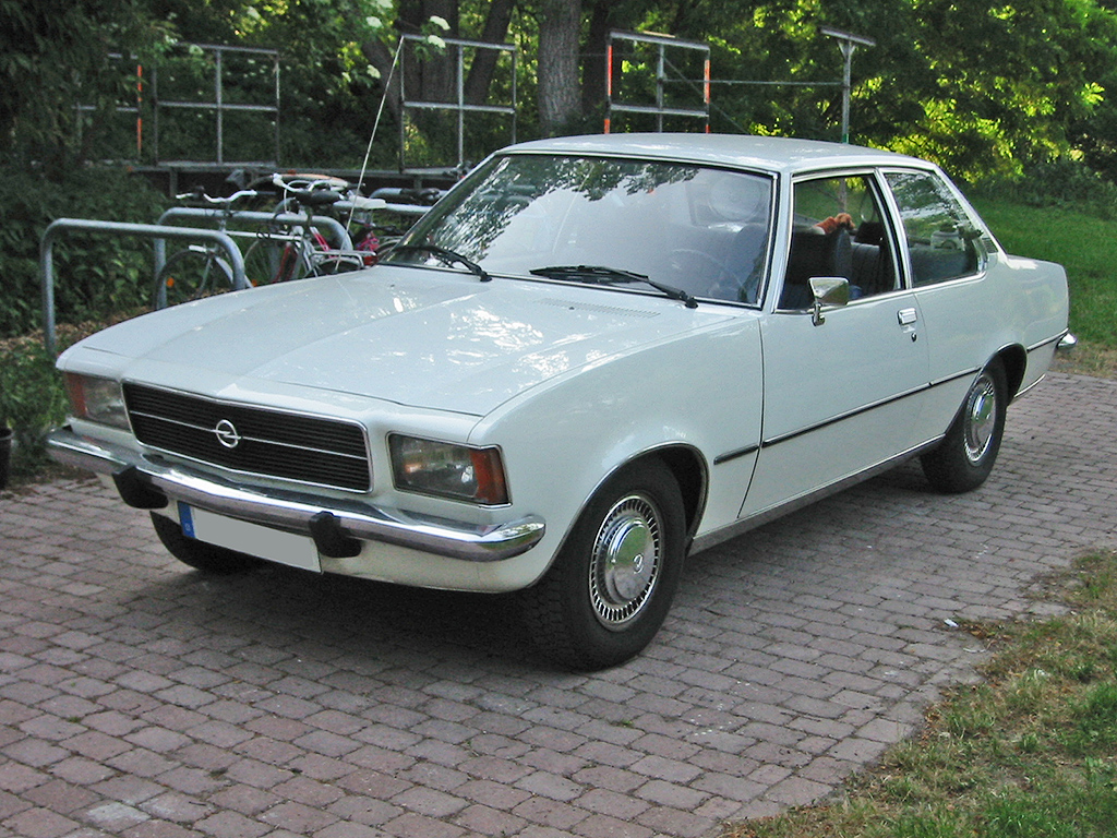 1975 Opel 1900 - Information and photos - MOMENTcar