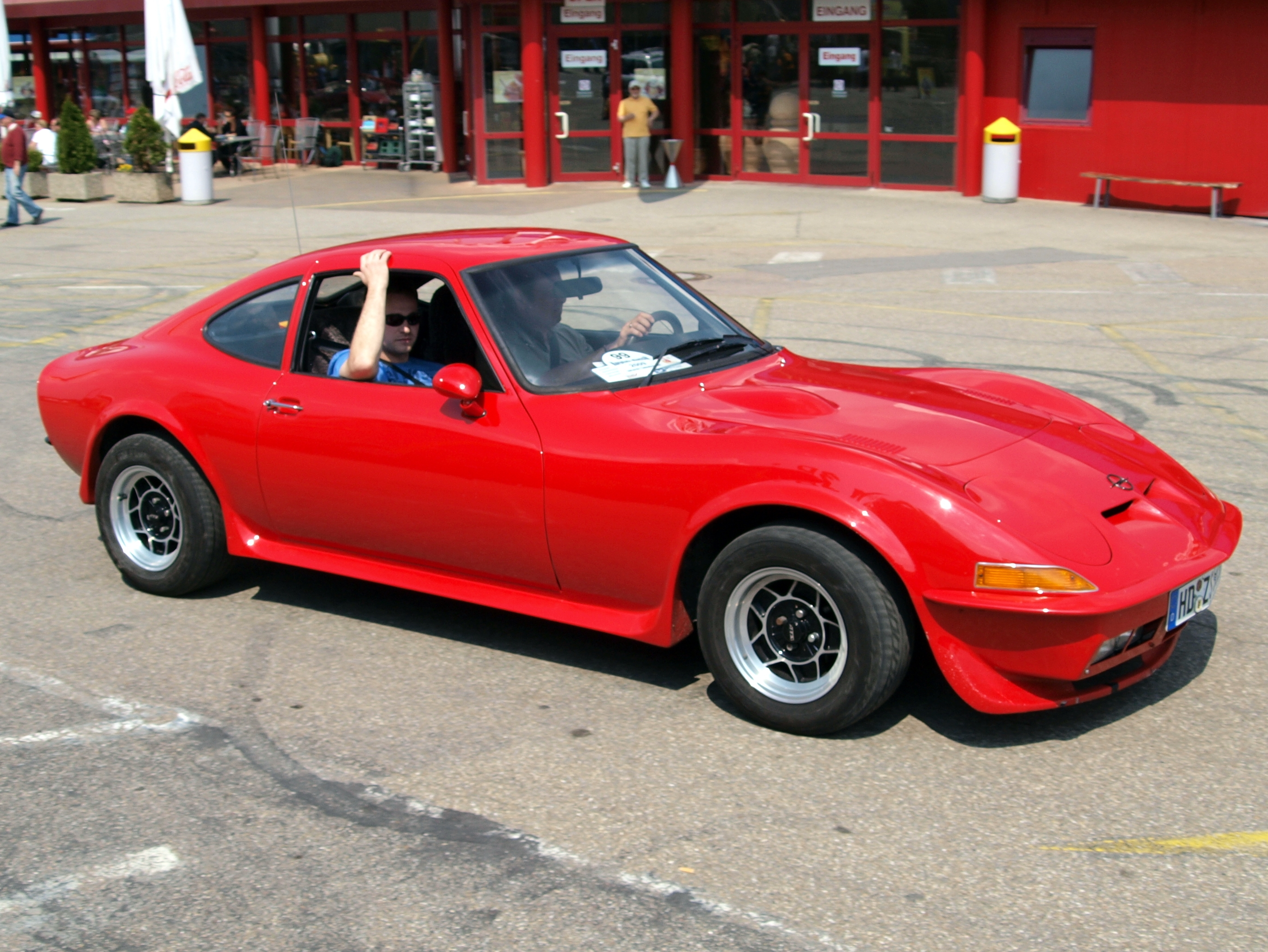 1969 Opel Gt Information And Photos Momentcar