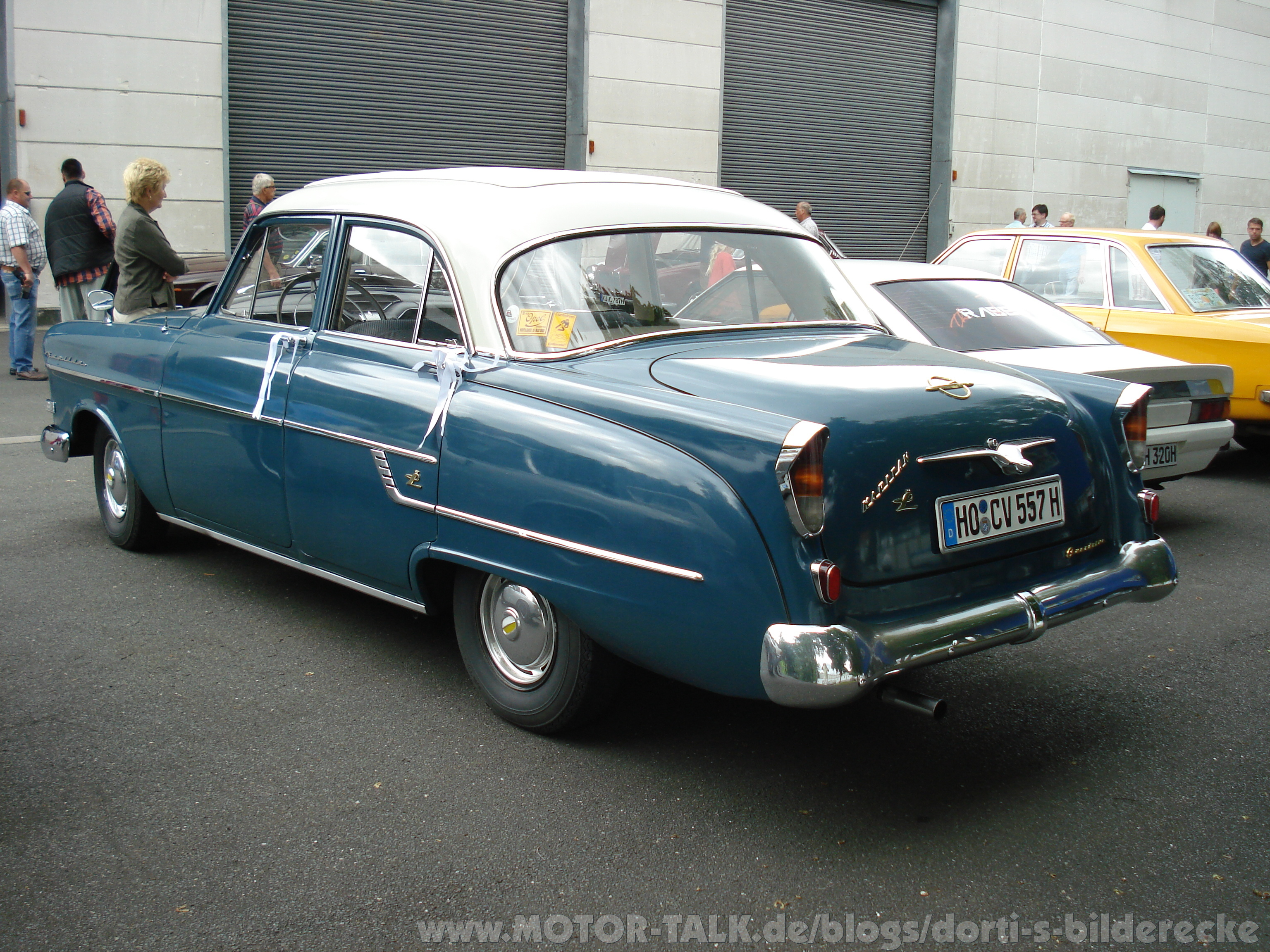 1957 Opel Kapitan Information And Photos Momentcar