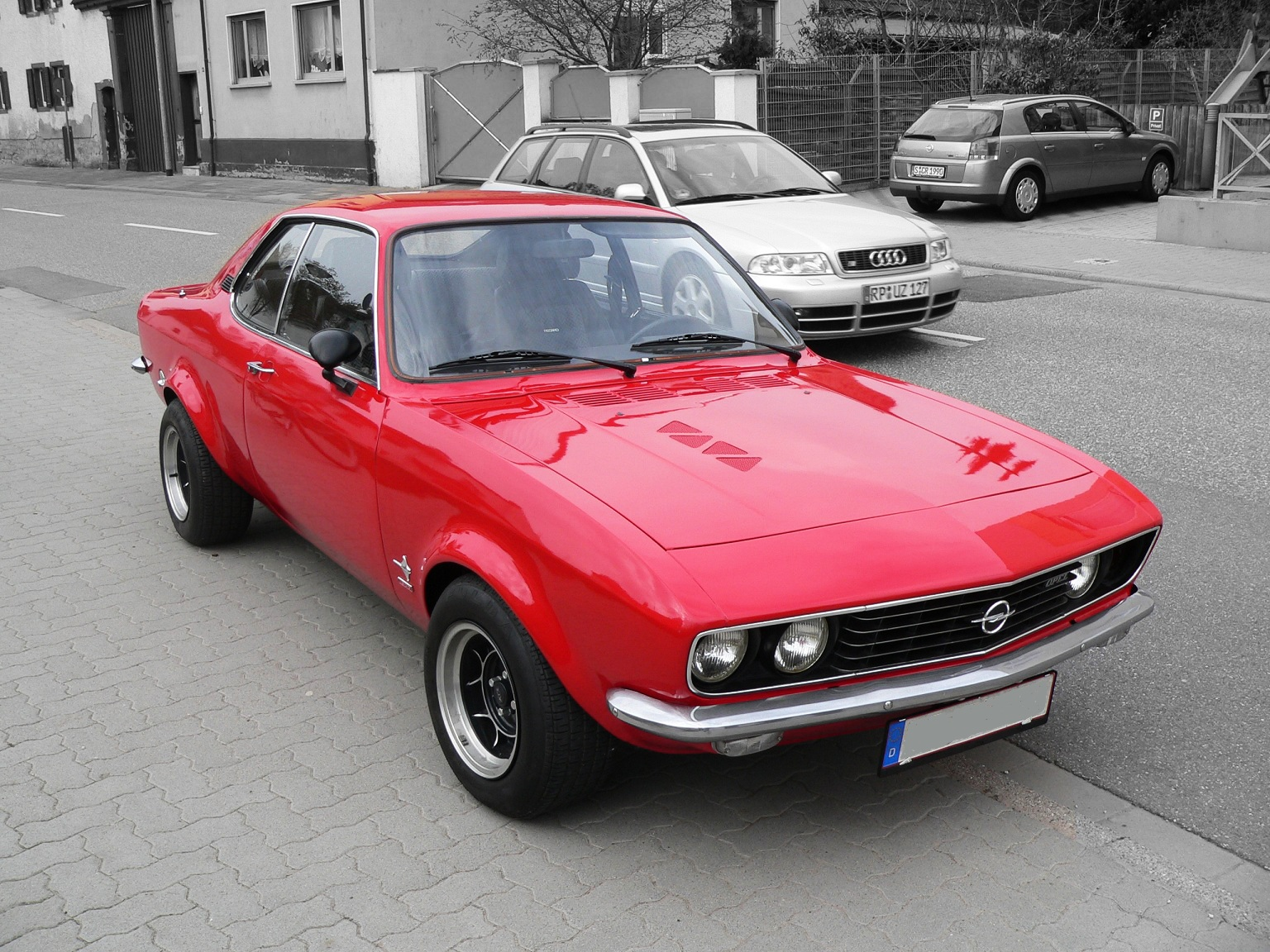 1973 opel manta information and photos momentcar. Black Bedroom Furniture Sets. Home Design Ideas