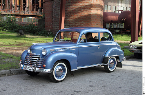 1948 Opel Olympia - Information and photos - MOMENTcar