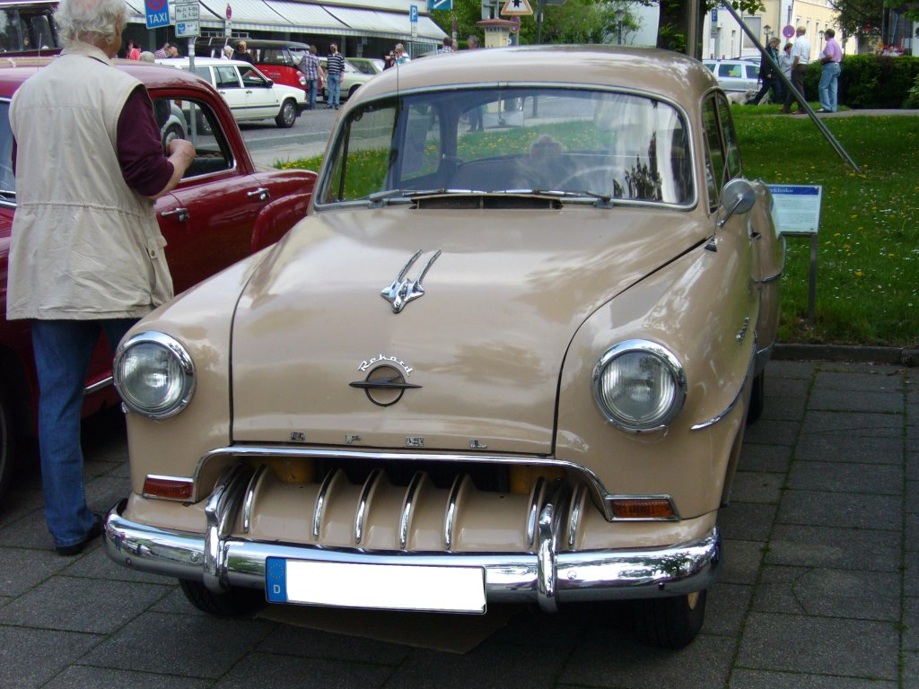 1954 opel olympia information and photos momentcar. Black Bedroom Furniture Sets. Home Design Ideas