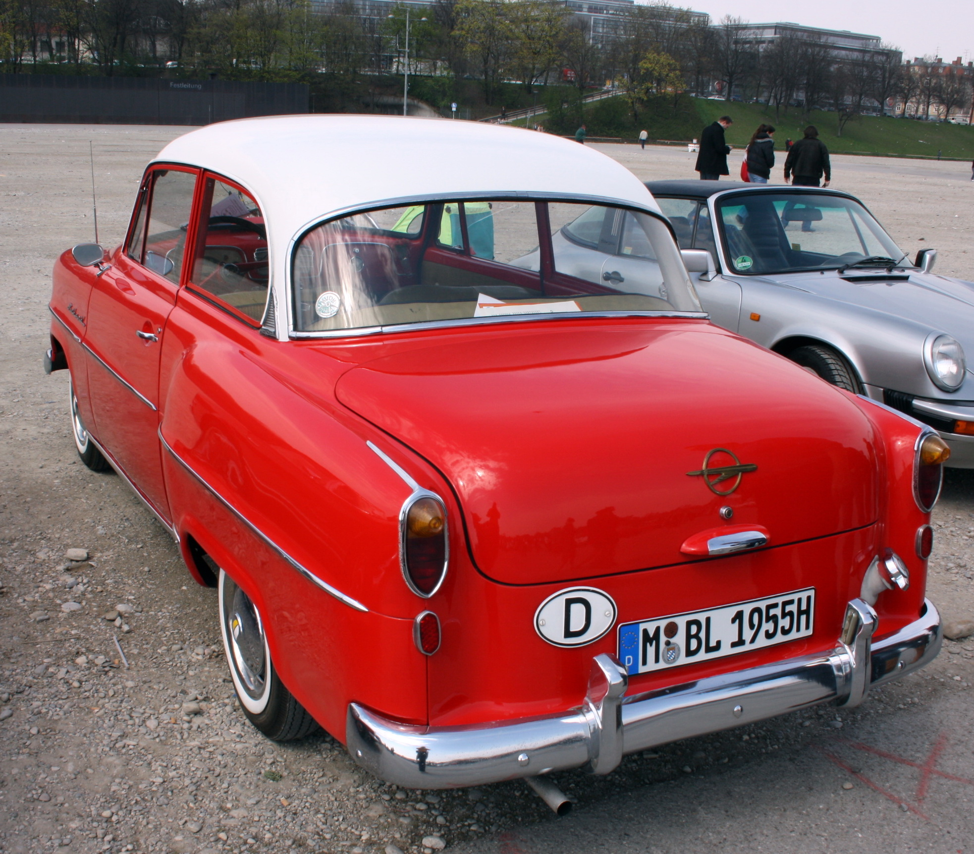 1955 Opel Olympia - Information and photos - MOMENTcar