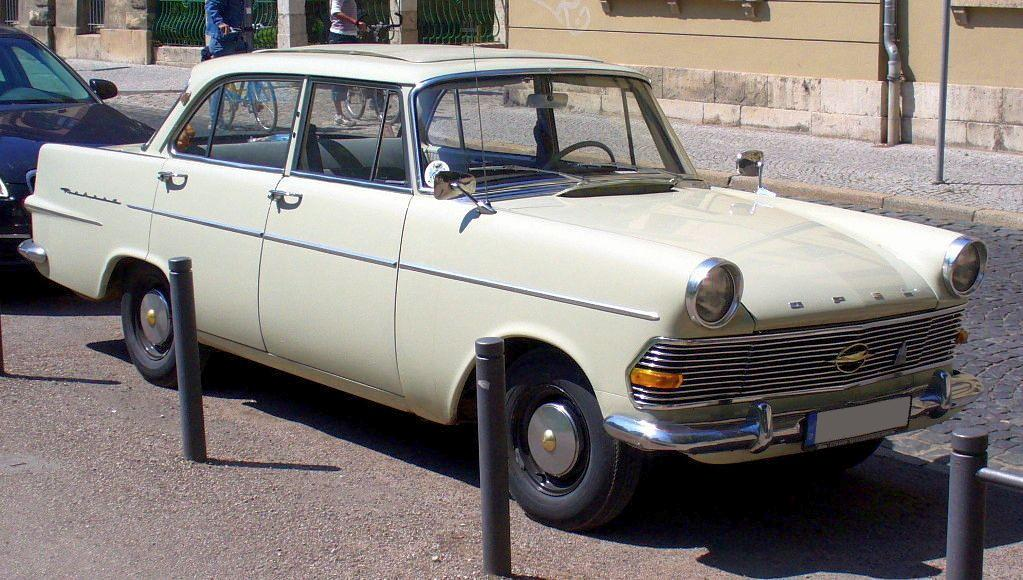 1961 Opel Olympia - Information and photos - MOMENTcar