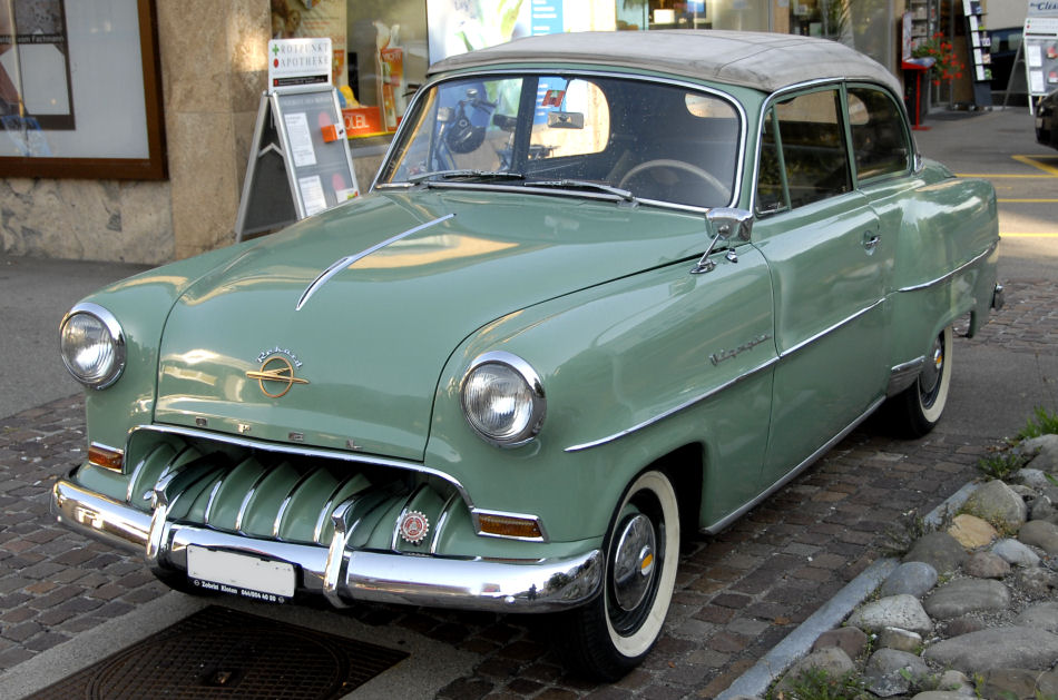1953 opel olympia rekord information and photos momentcar. Black Bedroom Furniture Sets. Home Design Ideas