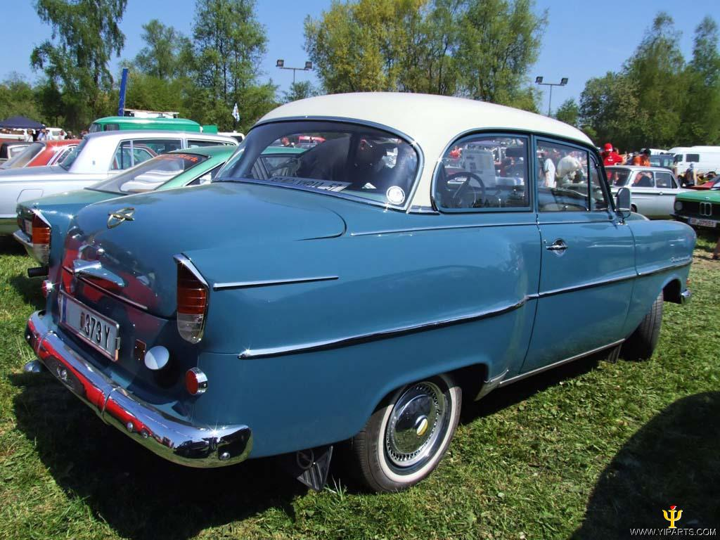 1953 Opel Olympia Rekord - Information and photos - MOMENTcar