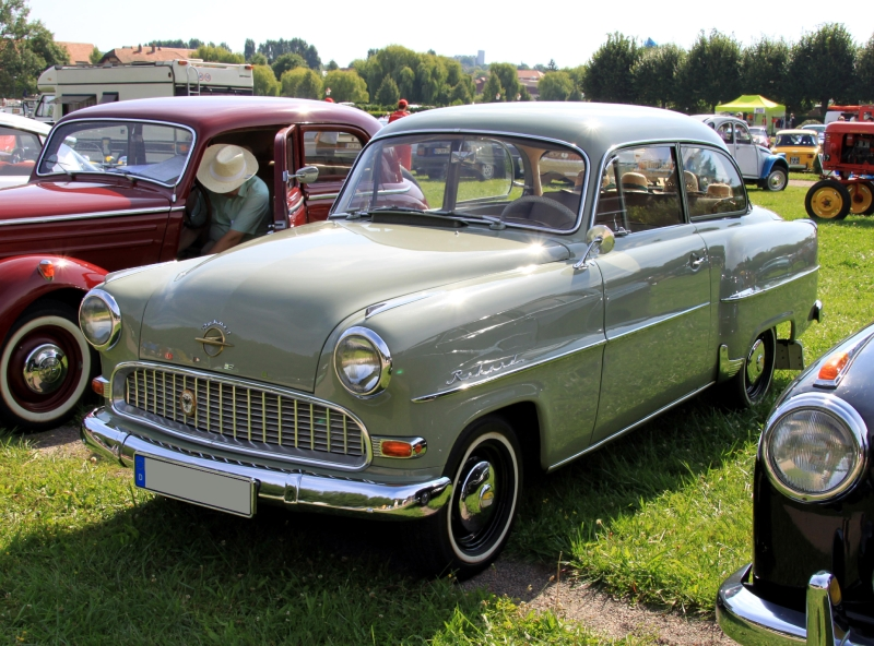 1955 opel olympia rekord information and photos momentcar. Black Bedroom Furniture Sets. Home Design Ideas