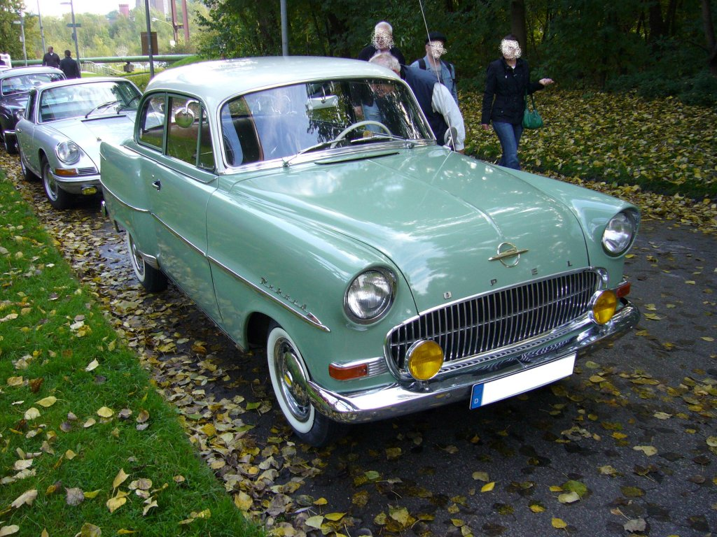 1957 opel olympia rekord information and photos momentcar. Black Bedroom Furniture Sets. Home Design Ideas